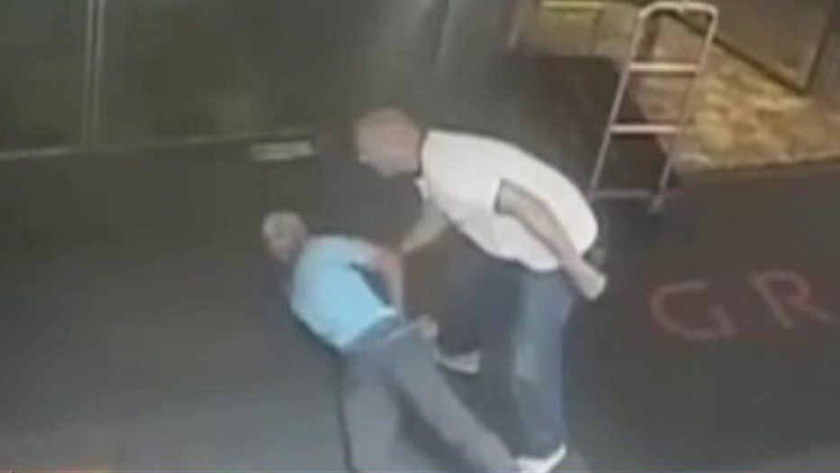 Video of James Blake being tackled by undercover officer
