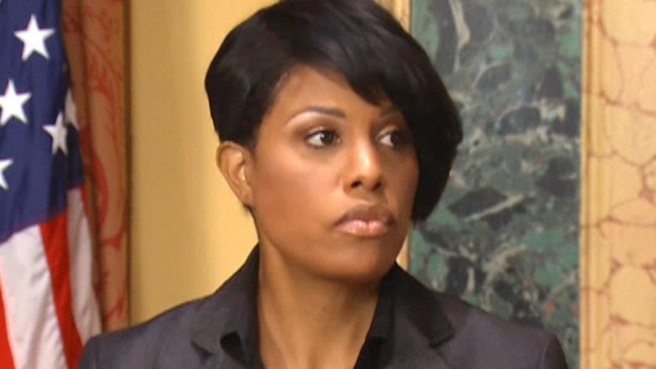 Baltimore mayor won't seek re-election
