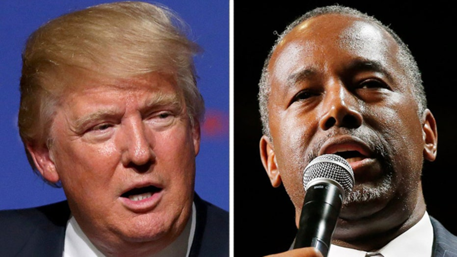 Trump, Carson and everyone else in GOP field