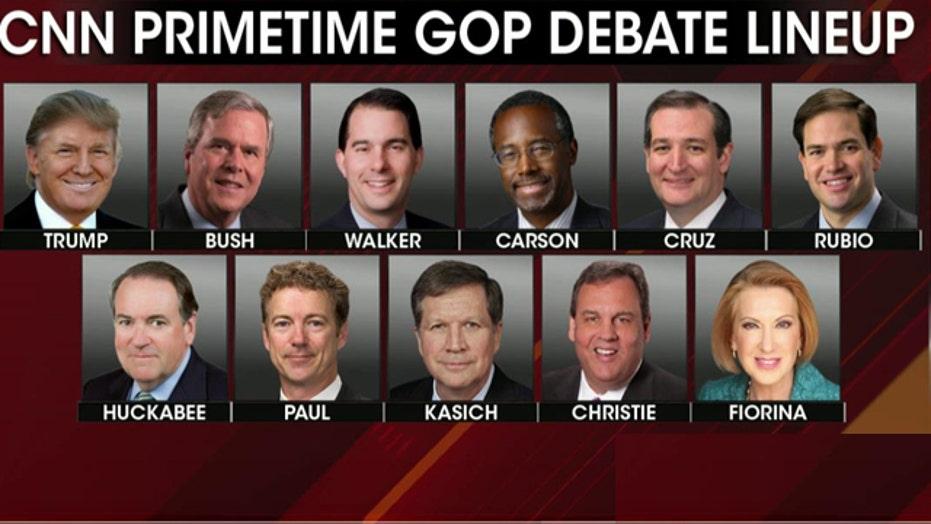 GOP candidates prepare for second debate