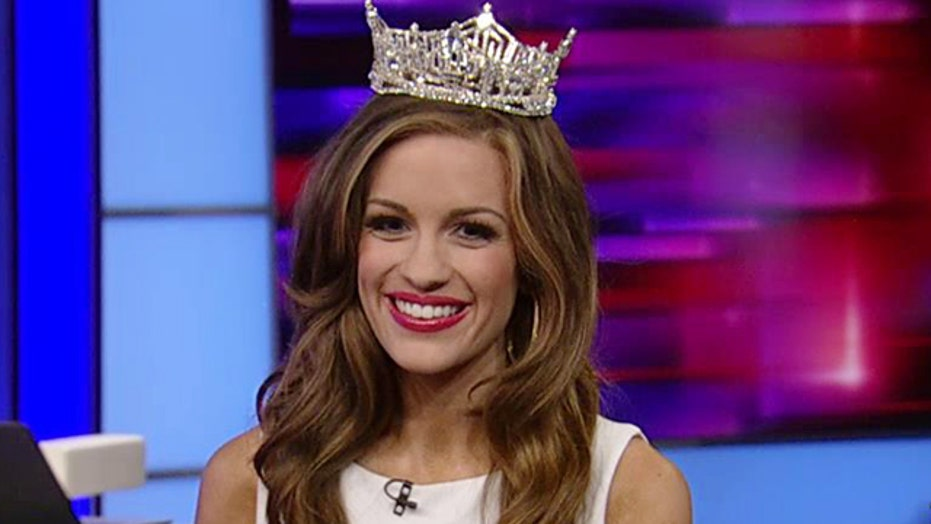 Gretchen Carlson gets real with Miss America 2016