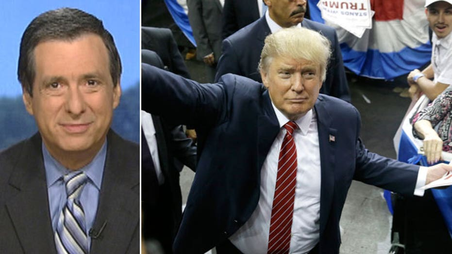Kurtz: Can anyone out-punch Donald Trump?