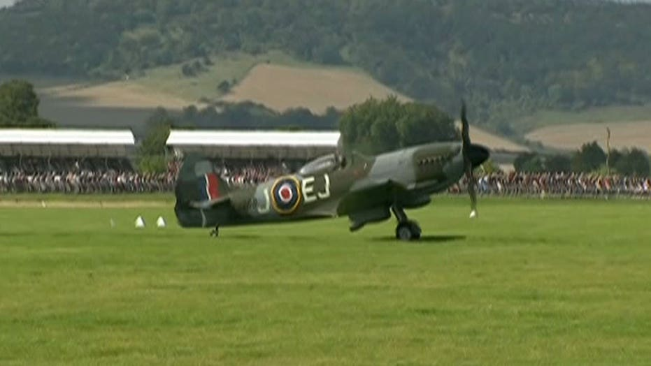 WWII aircraft honor 75th anniversary of Battle of Britain