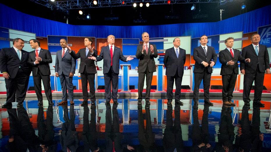 Debate expectations for Republican presidential hopefuls