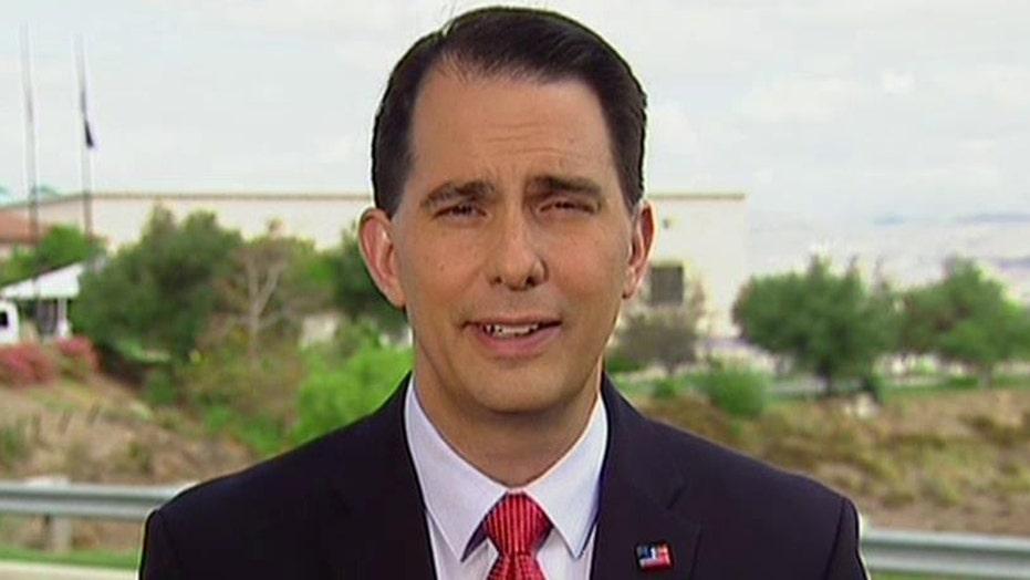 Walker: Talk is cheap, voters want proven leadership