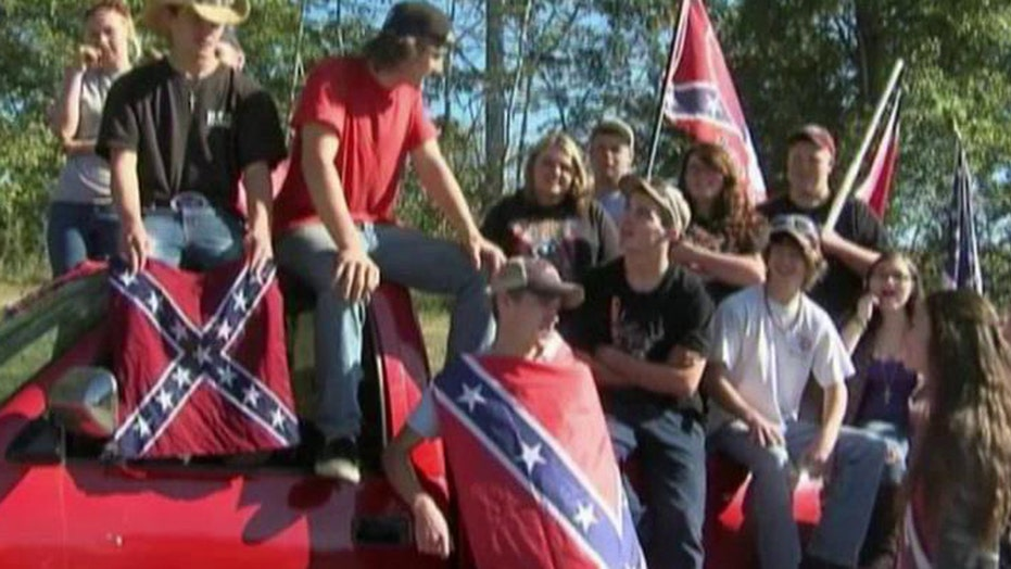 Students punished for Confederate flag shirts
