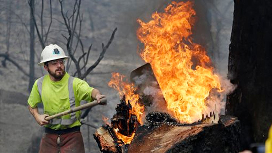 Cooler weather, rain help fight against California wildfires