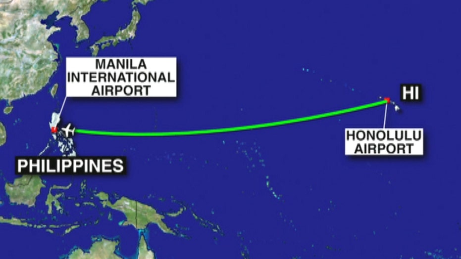 15 injured after turbulence on Hawaii-Philippines flight