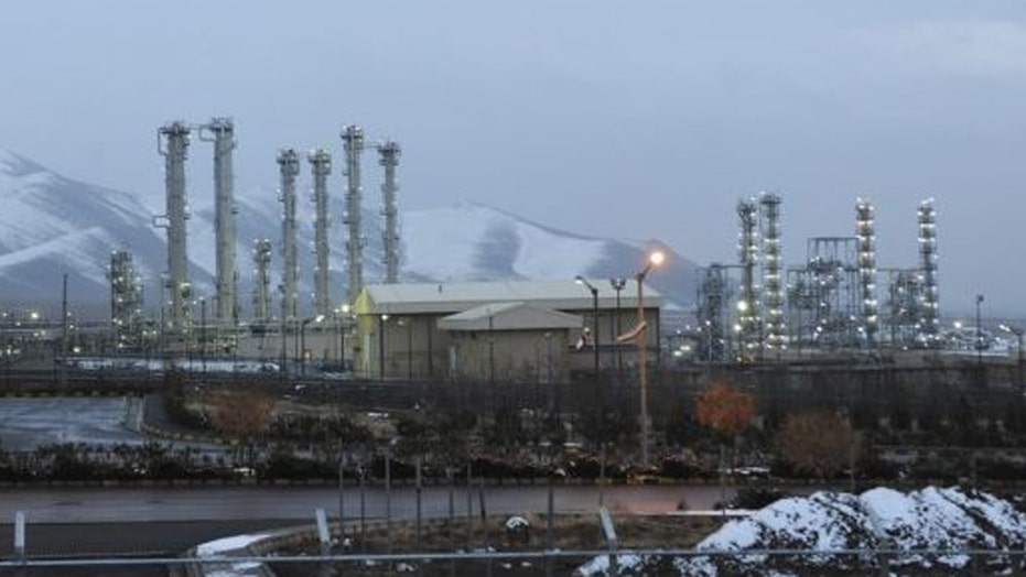 Iran gives samples from sensitive nuclear site