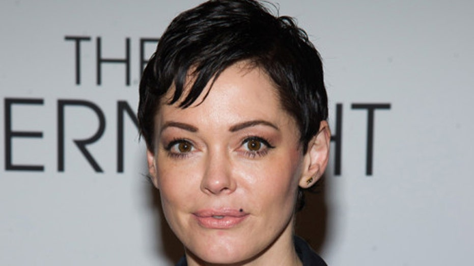 Rose McGowan: Nudity, body paint, piercings, oh my!