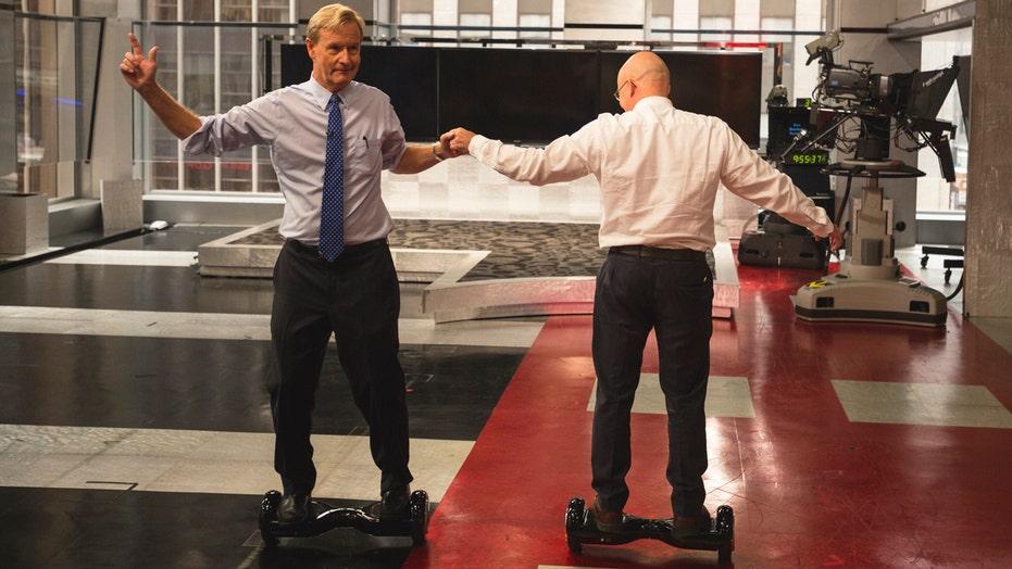 'Hoverboard' 'craze' hits Fox News