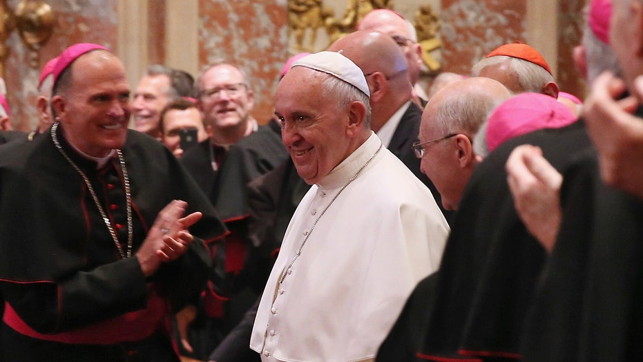 Pope issues pointed appeal to defend religious liberties