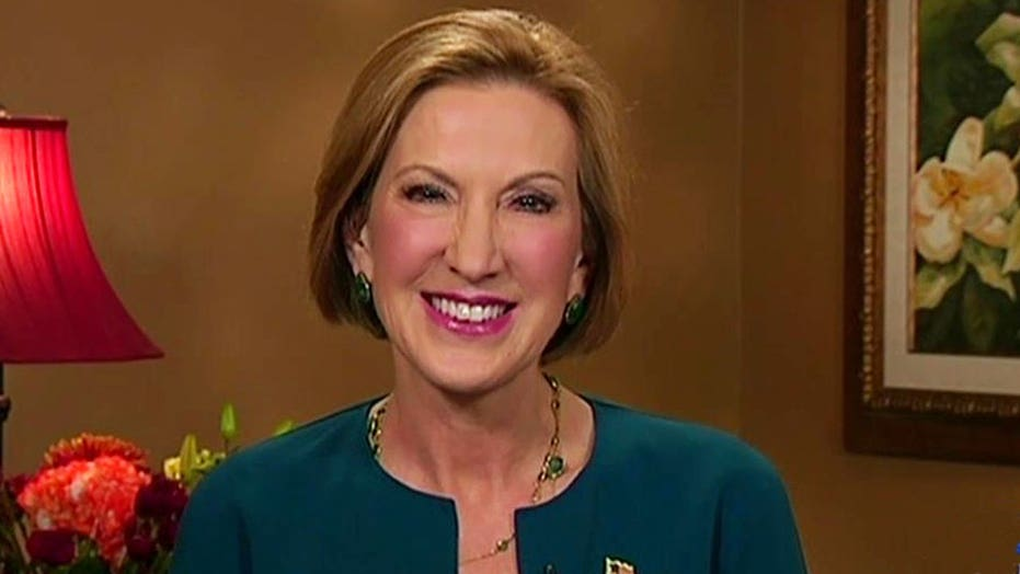 Carly Fiorina's poll numbers rising quickly