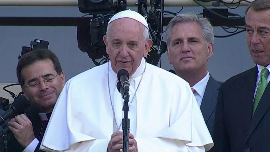 Pope's address to Congress 'threaded the needle perfectly'
