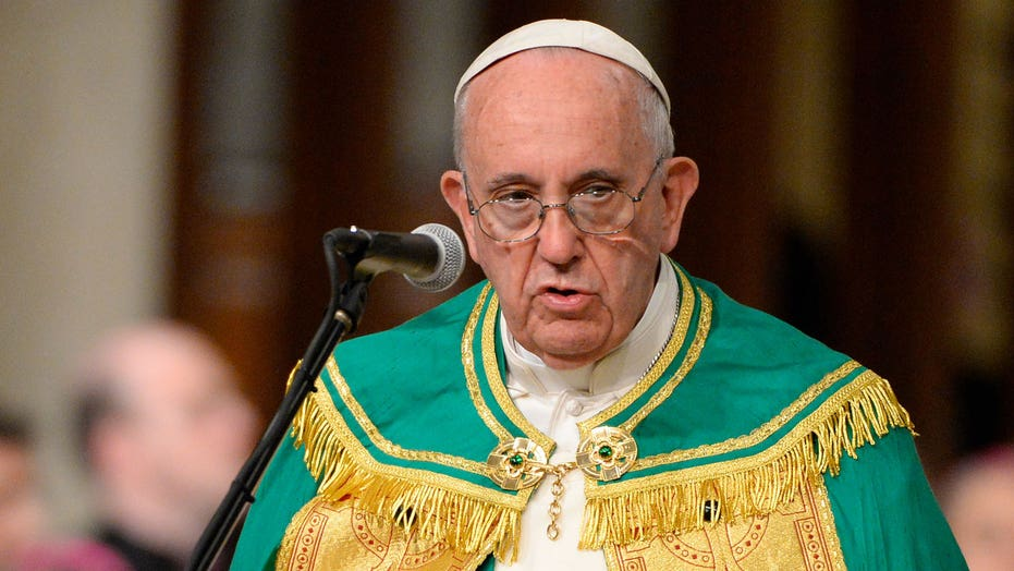 Pope Francis gives homily at St. Patrick's Cathedral