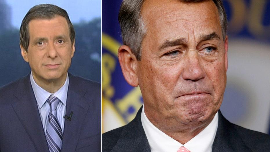 Kurtz: The day John Boehner gave up