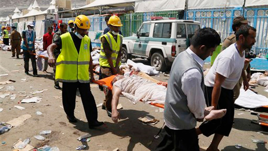 Officials: Hajj stampede happened when two crowds collided