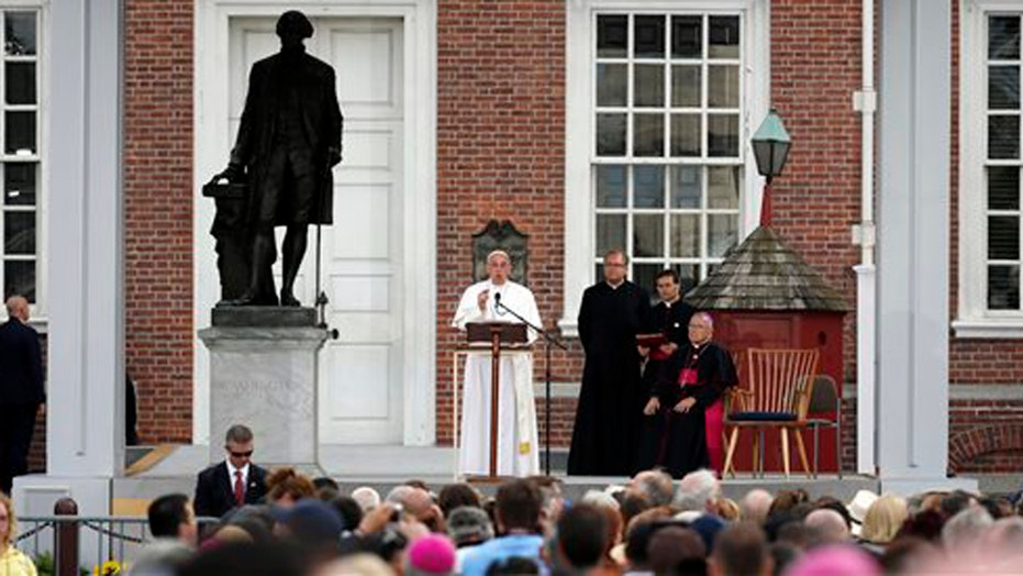 Pope: Immigrants should never be ashamed of their traditions
