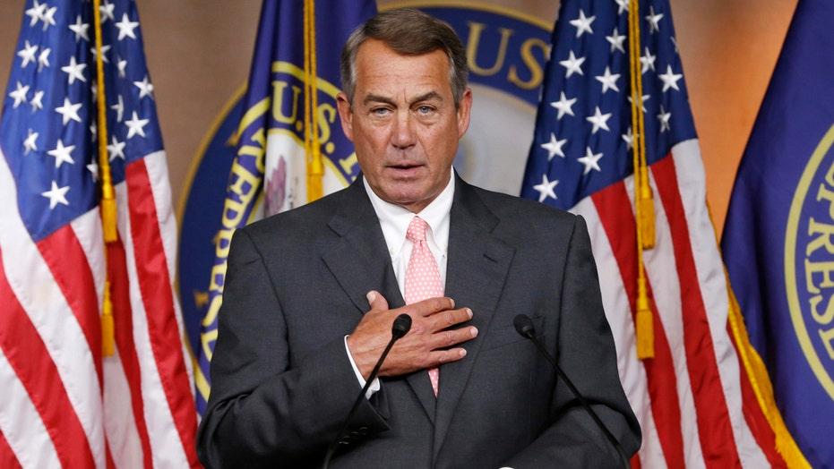 Speaker's race heats up days after Boehner's announcement