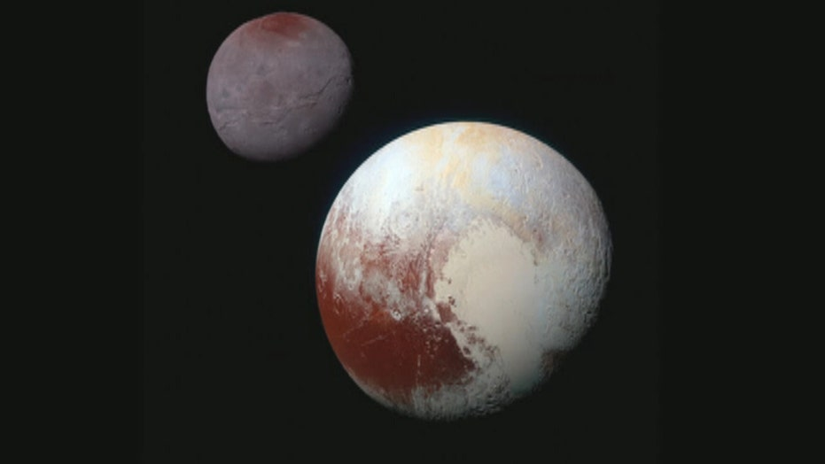 NASA releases spectacular new images of Pluto's largest moon