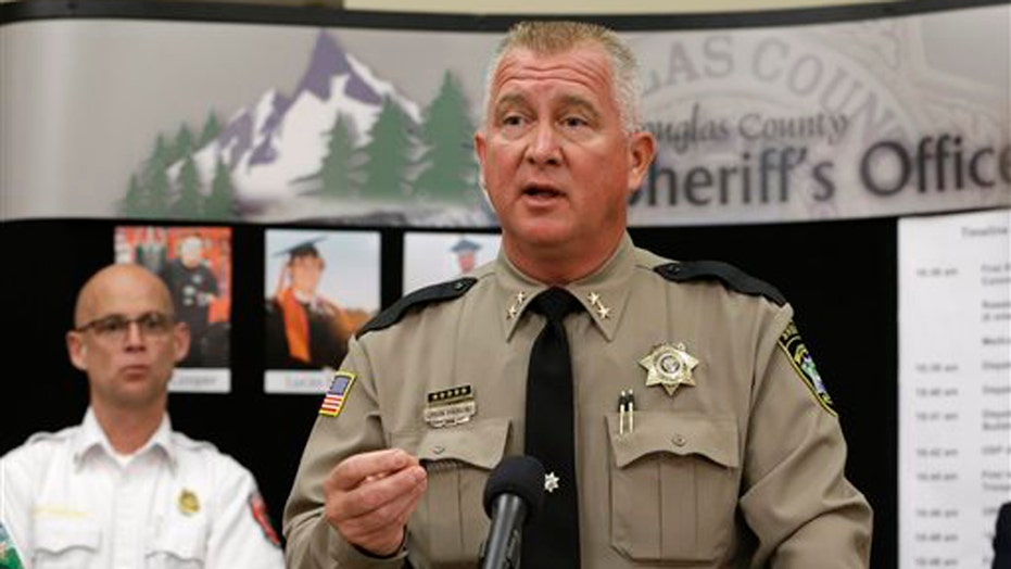 Sheriff: Oregon campus shooter's death ruled suicide