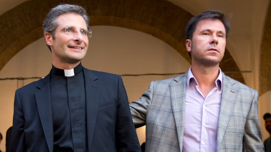 Vatican fires priest who announced he's gay, in relationship