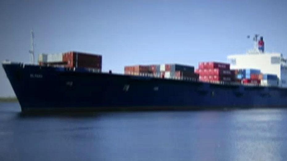 Search continues for cargo ship lost near Hurricane Joaquin