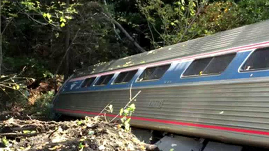 Multiple injuries reported in Amtrak derailment in Vermont