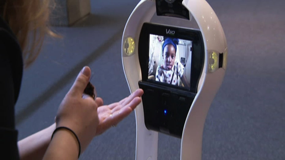 Robot sends cancer patients on 'virtual' field trips