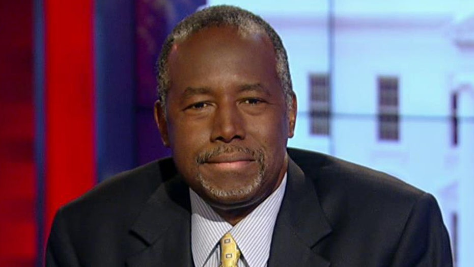 Carson defends shooting remarks, blames manipulative media