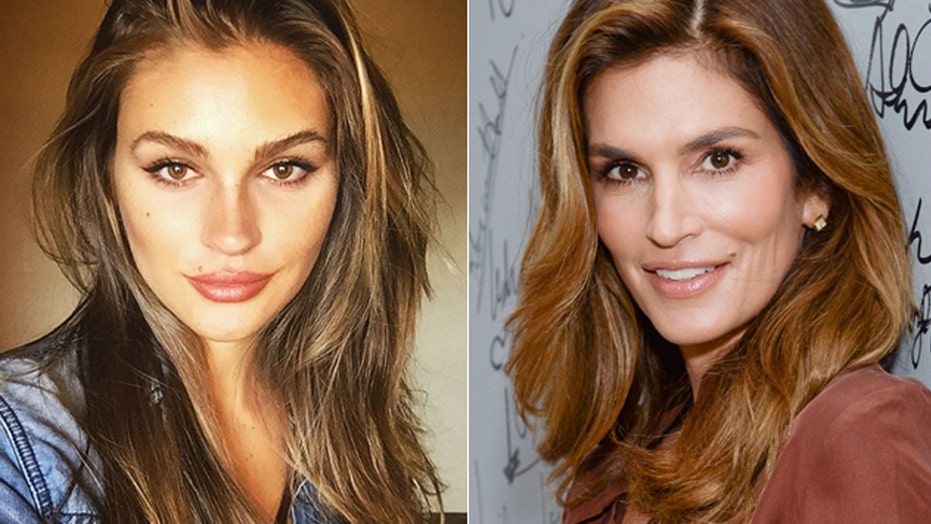 Is this model the next Cindy Crawford?