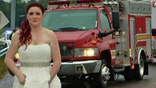 EMT bride and paramedic husband rush to aid dad and grandparents involved in car crash