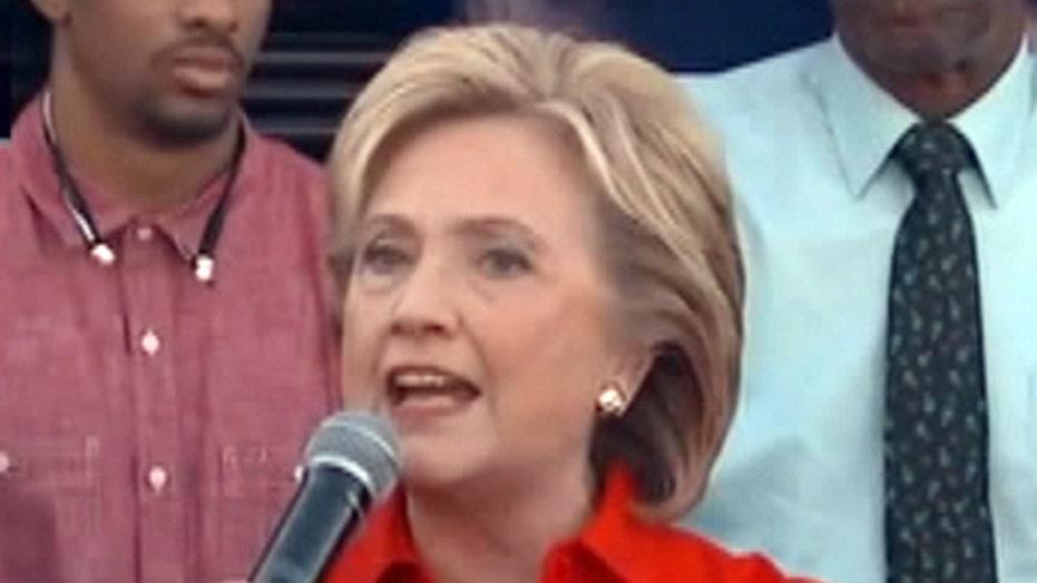 Clinton attacks Trump ahead of Democratic debate