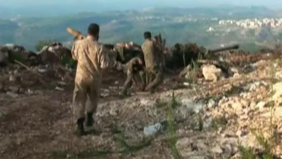 Pentagon denying weapons sent to Syria were for Kurds