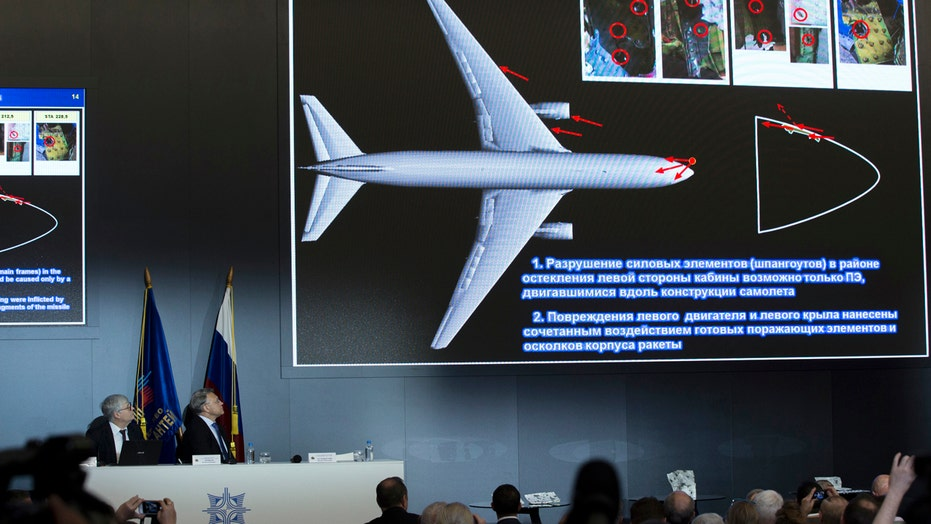 Russian-made missile responsible for MH17 crash in Ukraine