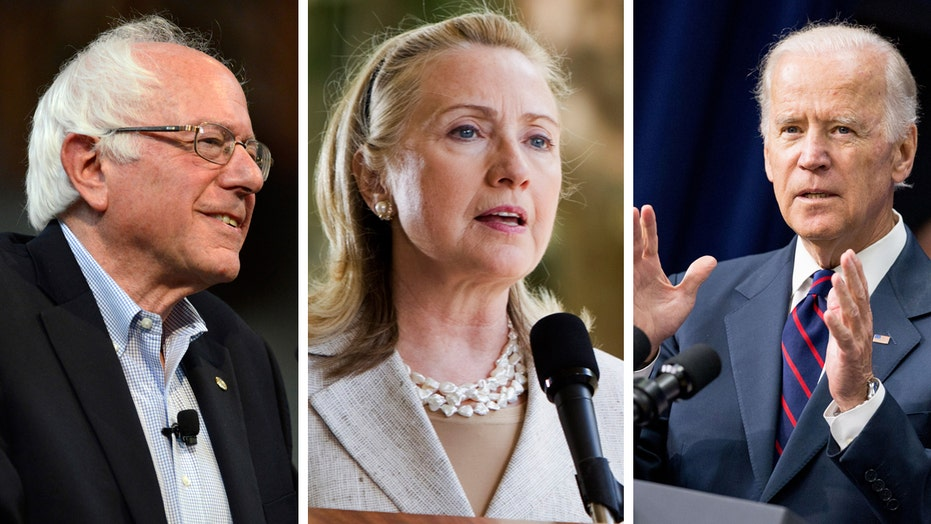 Poll: Clinton losing support, as Sanders, Biden gain ground