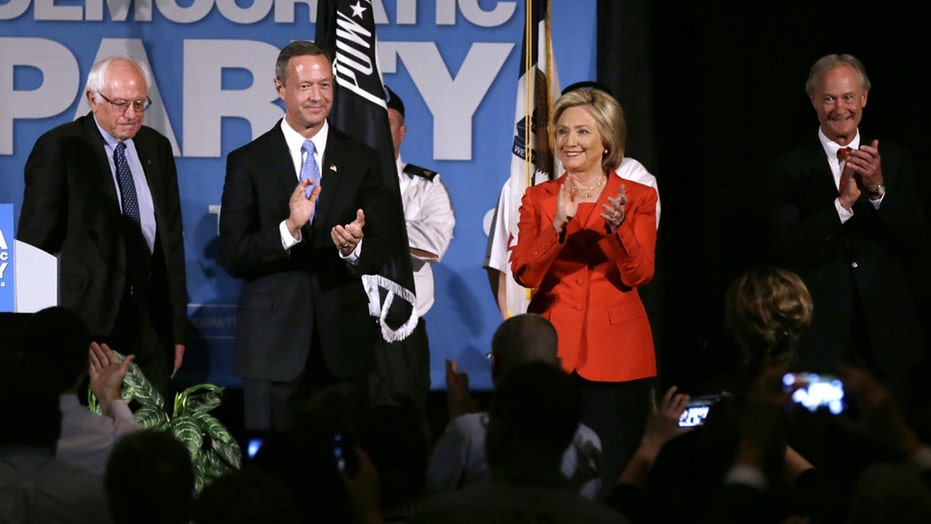 Will Democratic rivals seize on Clinton's contradictions?