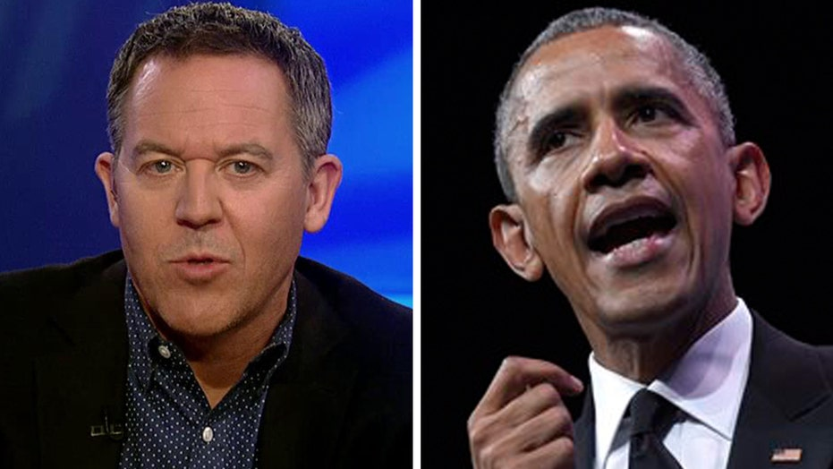 Gutfeld: Obama jabs a couple of his favorite targets
