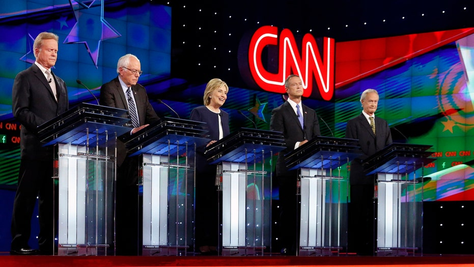 Did the media go easy on democratic debate candidates?
