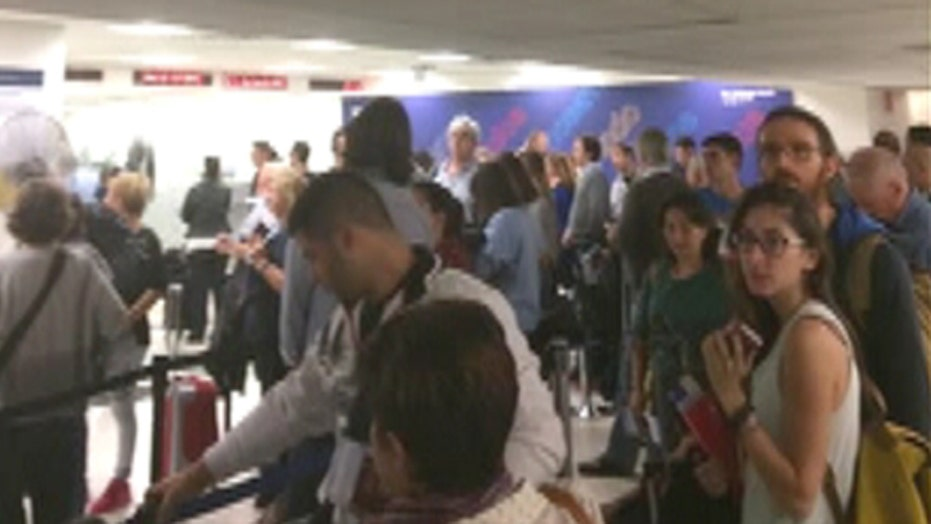 Airport agony: Computer outage causes major disruptions