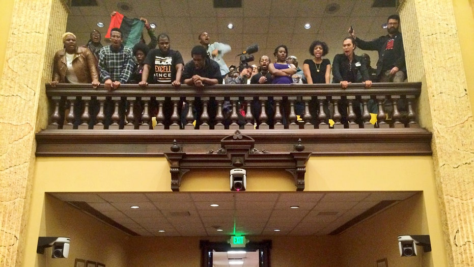 Activists arrested after staging Baltimore City Hall sit-in