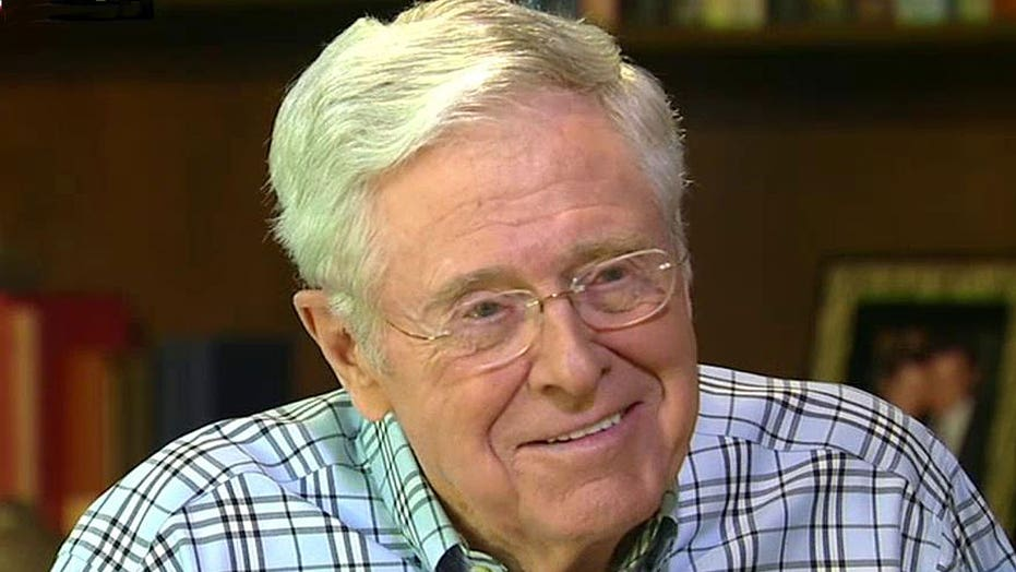 Charles Koch: Humility, integrity more important than talent