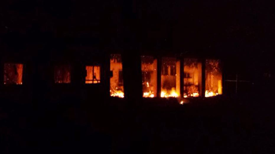 Report: US believed Afghan hospital was Taliban base