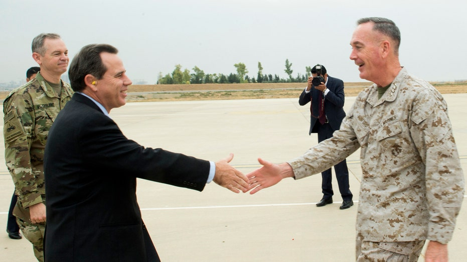 Joint Chiefs chair arrives in Iraq for update on ISIS fight