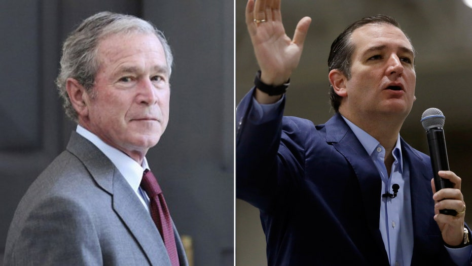 George W. Bush on Ted Cruz: I just don't like the guy
