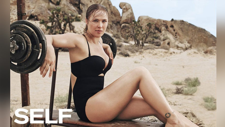 Ronda Rousey in sexy new shoot