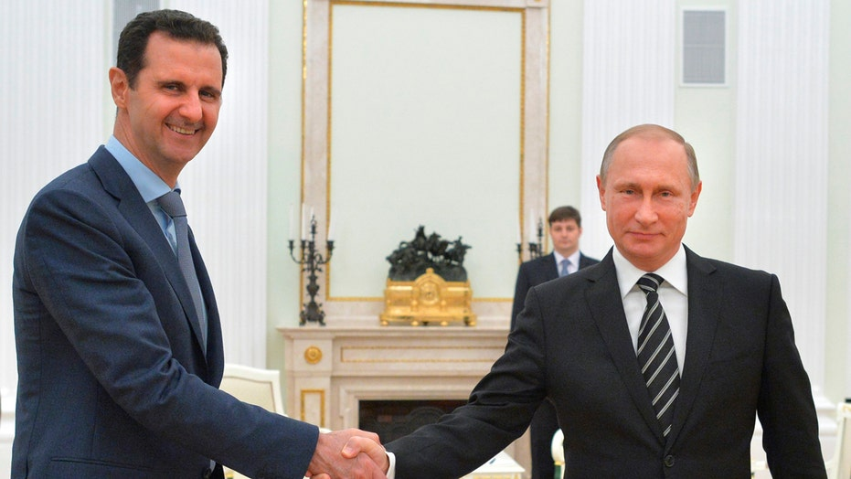 Syrian leader Bashar al-Assad meets with Putin in Moscow