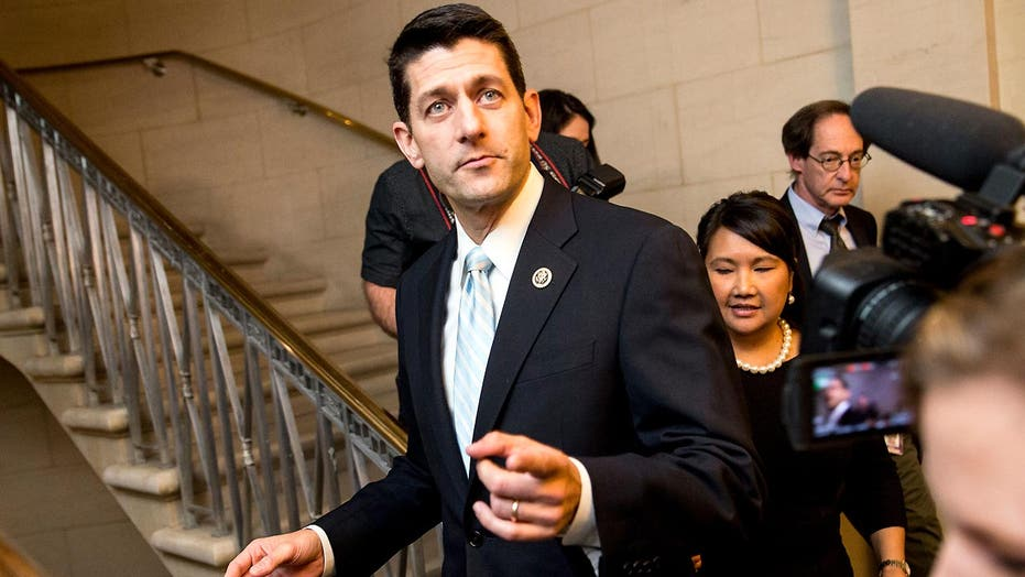 Paul Ryan lays out terms for speaker run