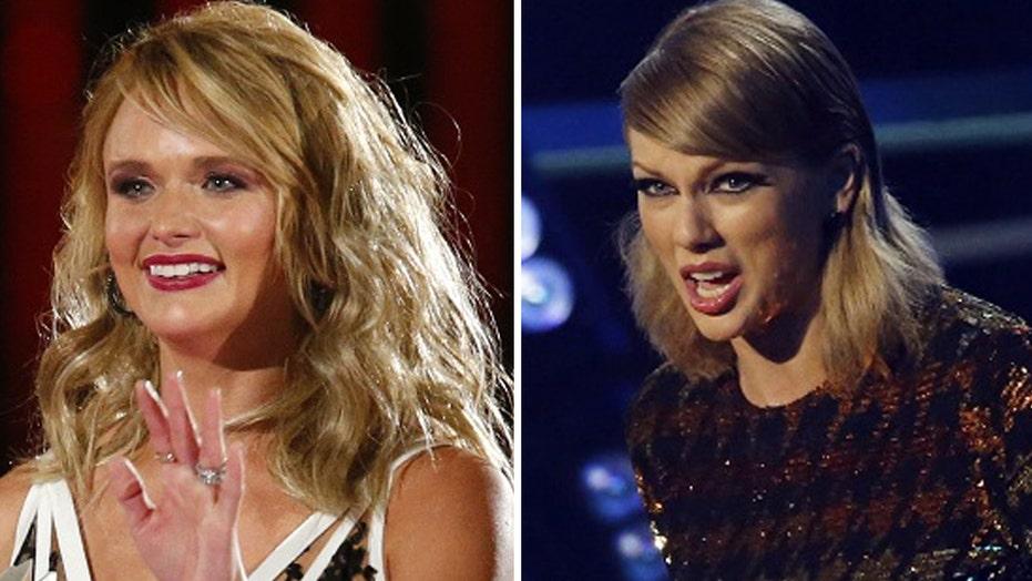 Miranda surprises Taylor fans on tour