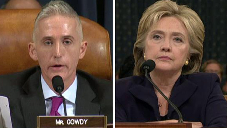 Gowdy spars with Clinton over unsolicited Blumenthal emails